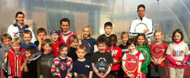 Children' tennis coaching in Maidstone, Kent