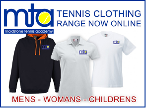 Tennis and Sports clothing range from Maidstone Tennis Academy