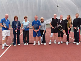 Adult tennis coaching at Maidstone Tennis Academy