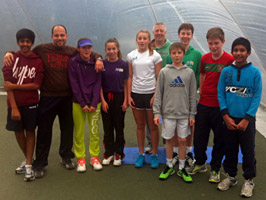 Tennis fitness training at Maidstone Tennis Academy